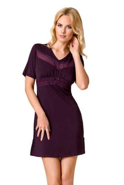 Luksusowa damska koszula nocna Viola fioletowa