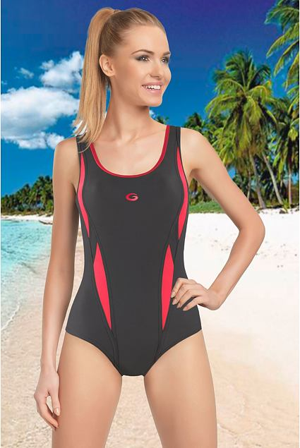 Jednoczęściowy sportowy strój kąpielowy Aqua I