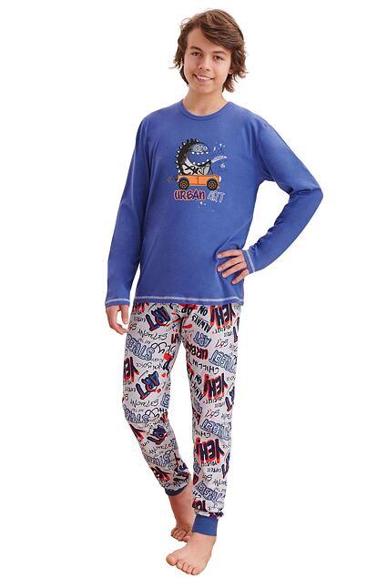 Piżama chłopięca Milos ciemnoniebieska