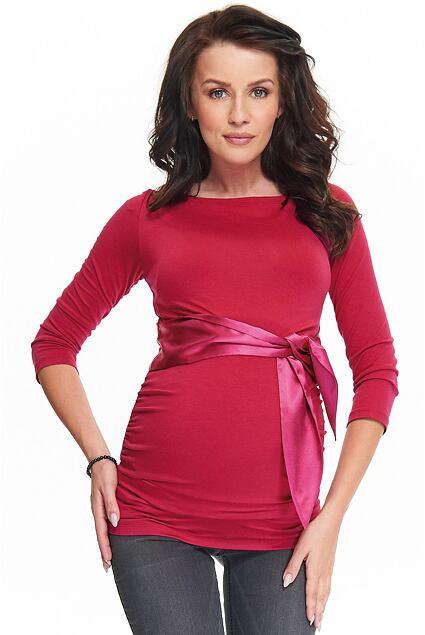 Bluzka ciążowa Sierra bordowa