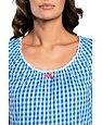 Koszulka nocna Kamila niebieska